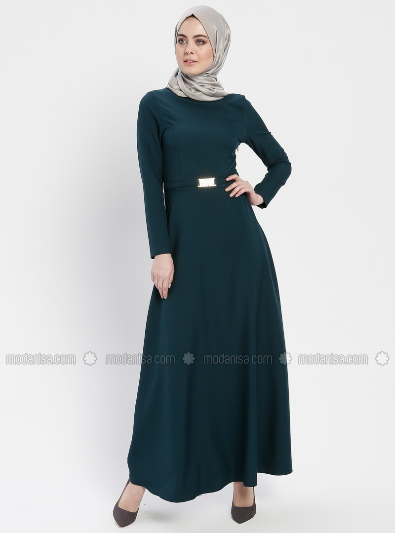 Emerald - Crew neck - Unlined - Dresses - ZENANE