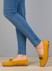 Mustard - Flat - Flat Shoes