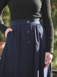 Navy Blue - Skirt