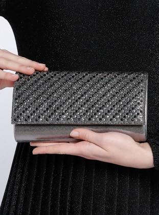 Silver - Clutch Bags / Handbags