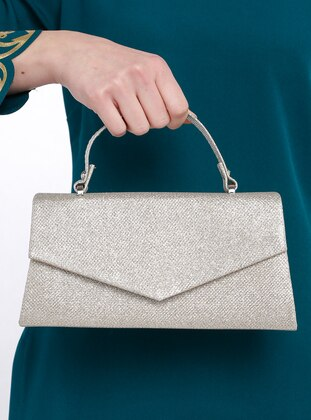 Gold - Gold - Clutch Bags / Handbags