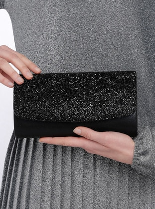 Black - Clutch Bags / Handbags - Varolli