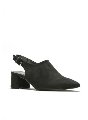 Black - High Heel - Casual - Sports Shoes