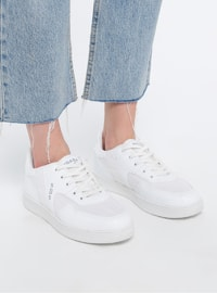 White - Sport - Sports Shoes