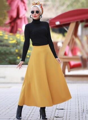 Mustard - Unlined - Skirt