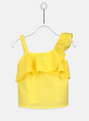 Yellow - Age 8-12 Blouse - LC WAIKIKI
