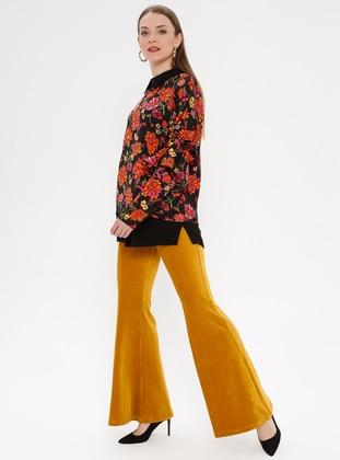 Yellow - Mustard - Pants