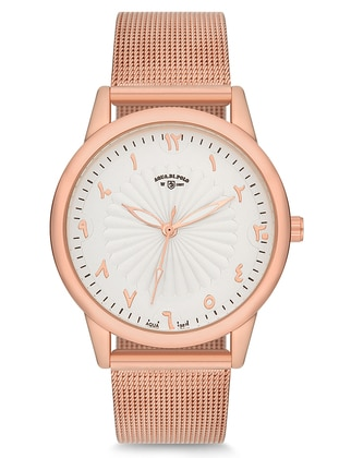 Pink - Gold - Watch - Aqua Di Polo 1987