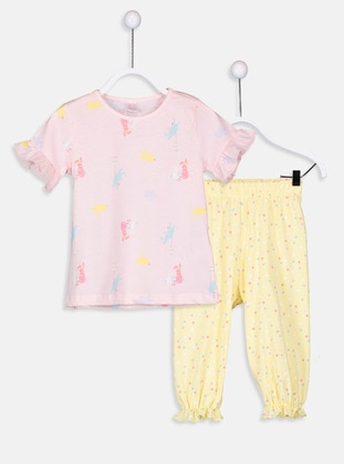 Pink - Kids Pijamas - LC WAIKIKI