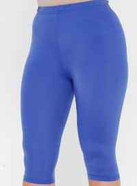 Blue - Unlined - Half Covered Switsuits
