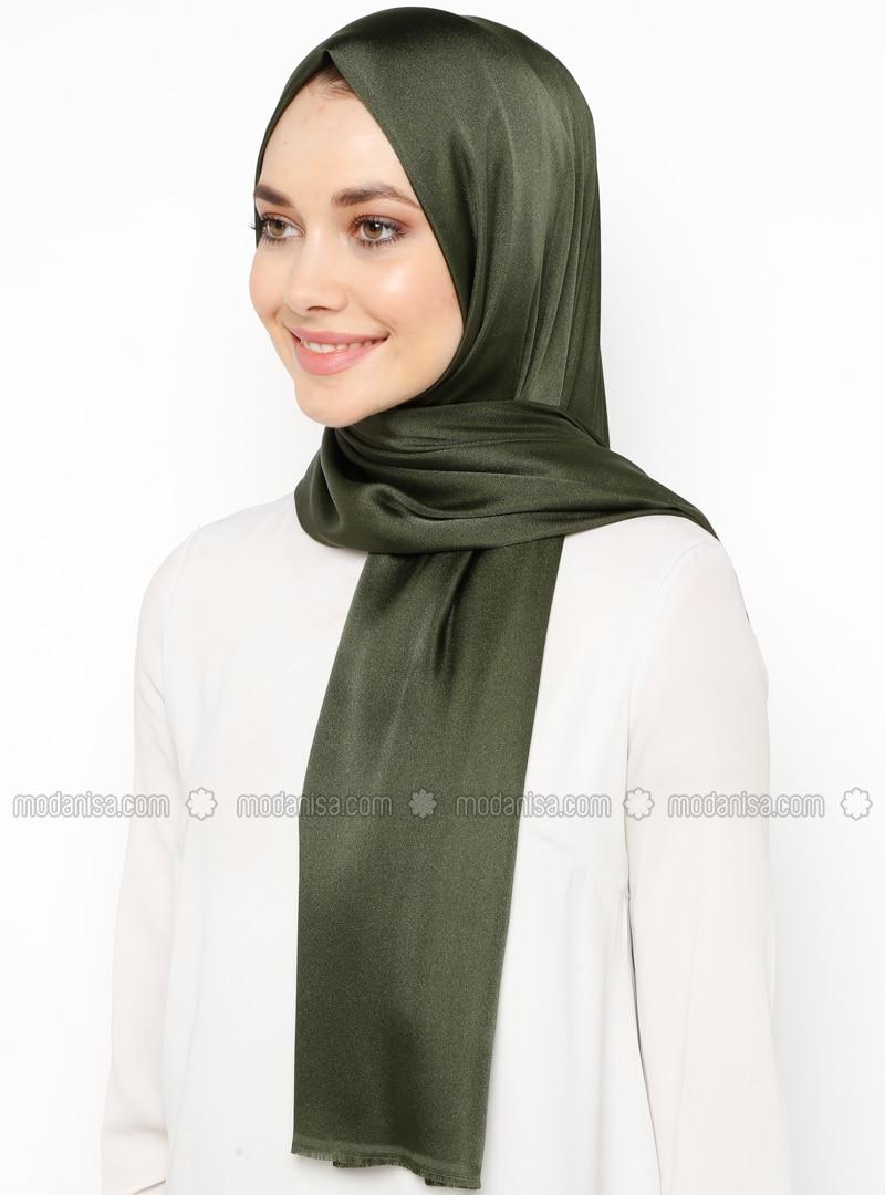 Khaki - Plain - Shawl