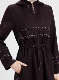 Purple - Unlined - Topcoat