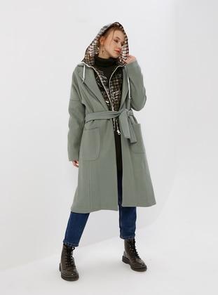 Mint - Fully Lined - Shawl Collar - Coat