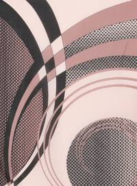 Black - Powder - Printed - Scarf