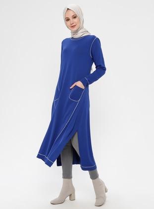Saxe - Crew neck - Unlined - Dress