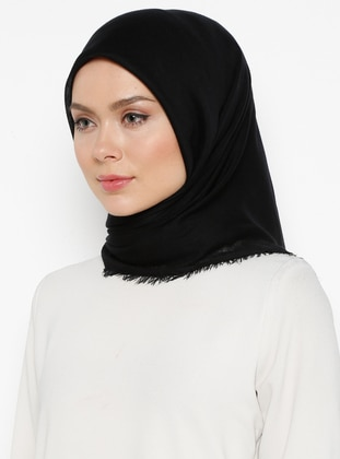 Black - Plain - Scarf