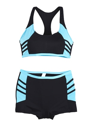Turquoise - Half Covered Switsuits