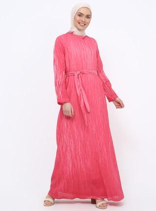Fuchsia Plus Size Dresses - Shop Women\'s Plus Size Dresses | Modanisa