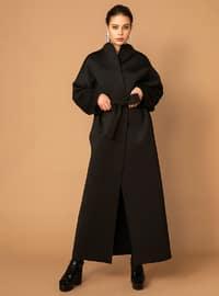 Black - Unlined - Coat