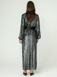 Anthracite - Unlined - Abaya