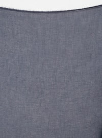 Blue - Plain - Scarf