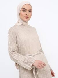 Minc - Crew neck - Unlined - Cotton - Dress