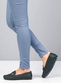 Green - Flat - Flat Shoes