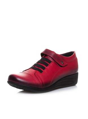 Red - Casual - Shoes - Efem