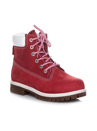 Red - Boot - Boots - Efem