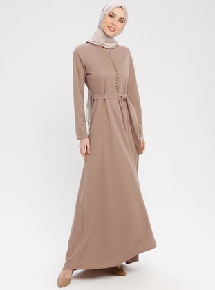Minc - Crew neck - Unlined - Dress - ZENANE