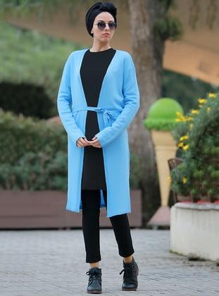 Blue - - Cardigan
