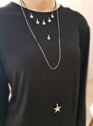 Black - Gold - Necklace