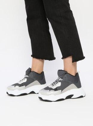 Gray - Smoke - Sport - Sports Shoes