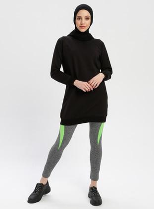 Green - Black - Legging