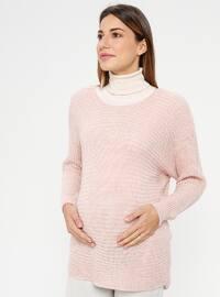 Powder - Boat neck - Maternity Tunic