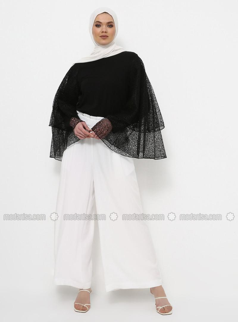 Black - Organic Cotton - Sustainable - Tunic