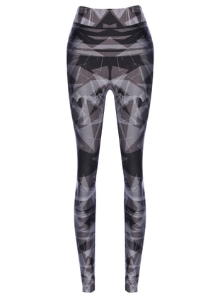 Black - Gray - Cotton - Legging