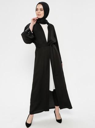 Black - Unlined - Abaya 6a5ac16cf