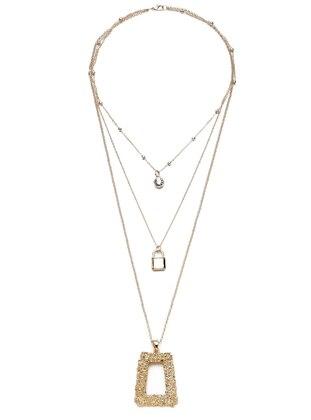 Gold - Necklace - Modex