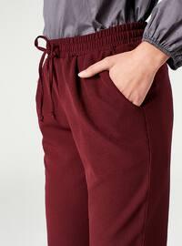 Maroon - Pants - MİZALLE