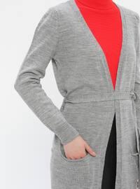 Gray - Cardigan