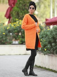 Orange -  - Cardigan