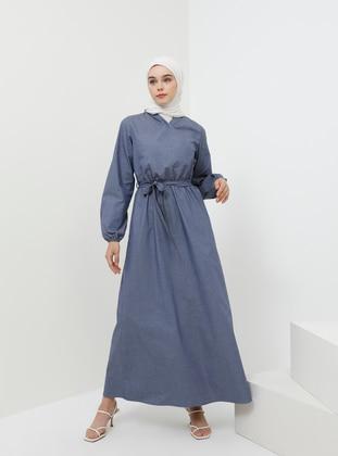 59a33a7a58338 Kot Tesettür Elbise Modelleri - Modanisa.com