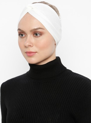 Cream - Simple - Viscose - Bonnet