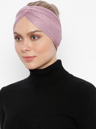 Pink - Simple - Viscose - Bonnet