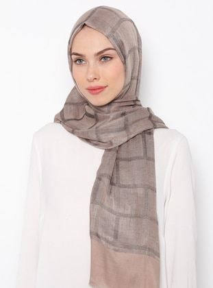 Minc - Striped - Cotton - Shawl