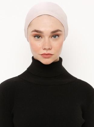 Powder - Lace up - Viscose - Bonnet