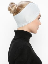 Gray - Simple - Viscose - Bonnet