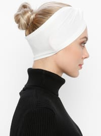 Cream - Simple - Viscose - Bonnet