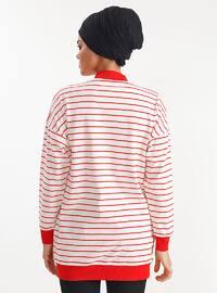 Red - Stripe - Jacket
